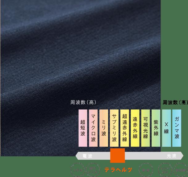 Be-A Japan/ベア ジャパン 超吸収型生理ショーツに採用されているテラヘルツ波 イメージ写真
